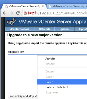 vcenter 5.1:5480 Upgrade Key