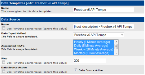 Freebox v6 API Temps