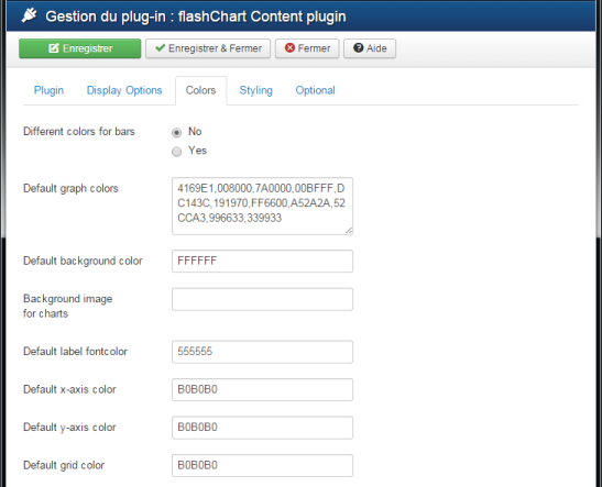 flashChart Content Plugin part 3