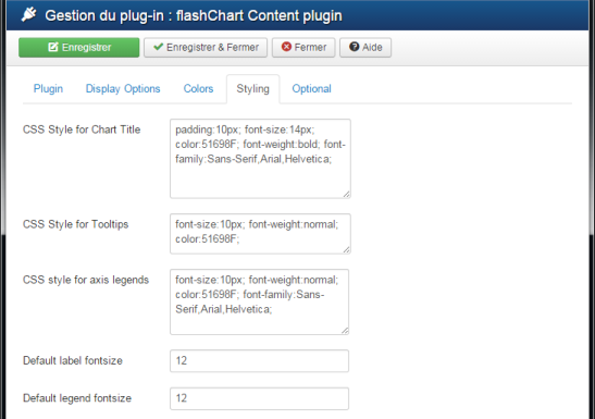 flashChart Content Plugin part 4