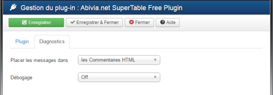 Abivia Supertable Free Plugin part 2