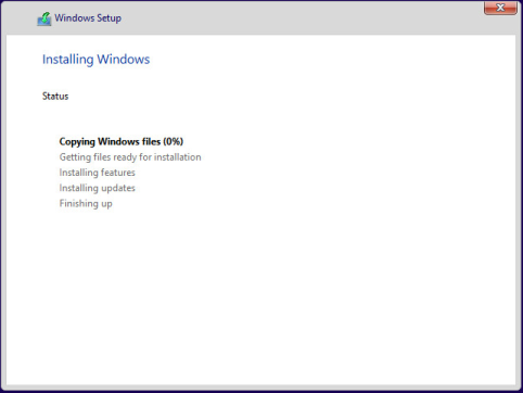 Etape 1 : Installation Windows 10 Preview